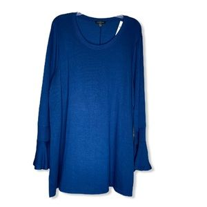 Lane Bryant Sweater Top Size 22/24 Blue/green NWT